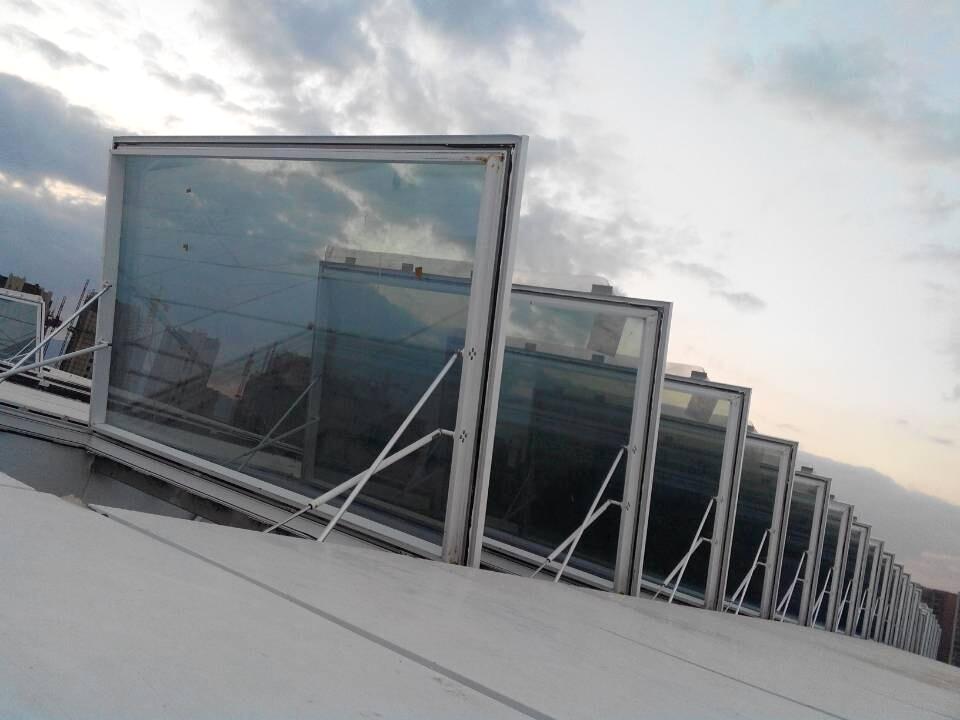 电动螺杆天窗