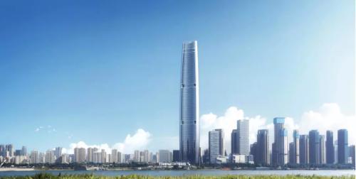 美耐达助力—武汉绿地中心
